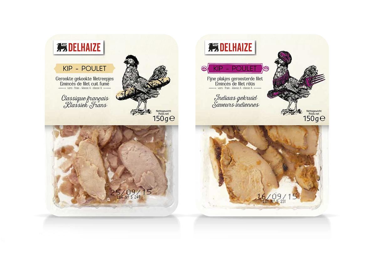 Quatre Mains package design -