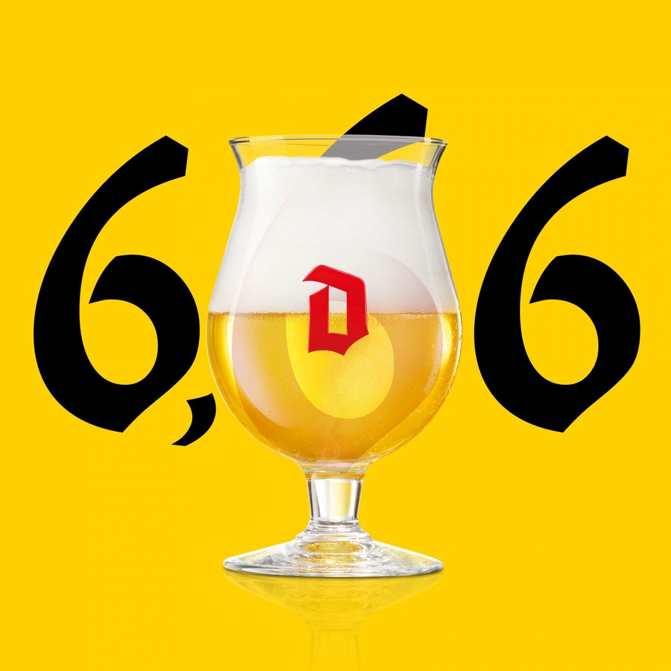 Quatre Mains package design - glass, D, icon, devil