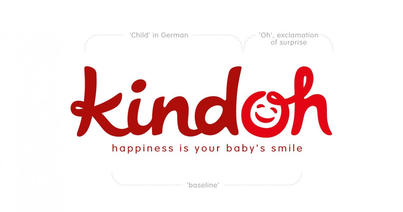 Quatre Mains package design - branding, kindoh, child, surprise, logo