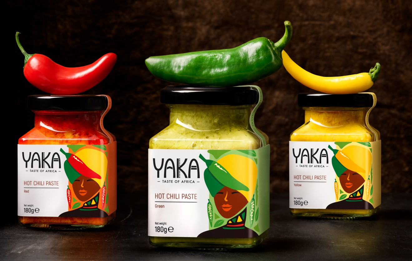 Quatre Mains package design - packaging, branding, ghana