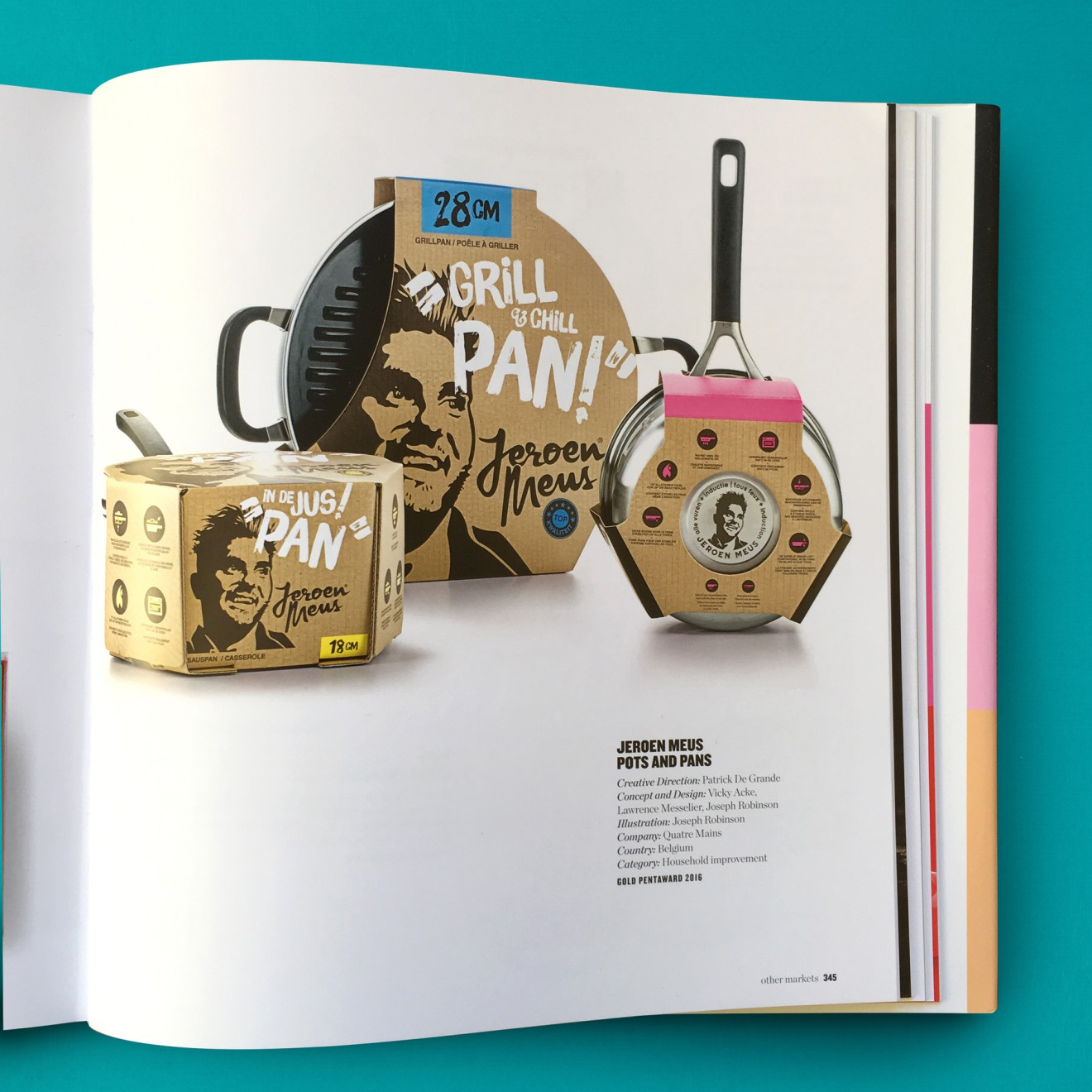Quatre Mains package design - jeroen meus, pentawards, packaging