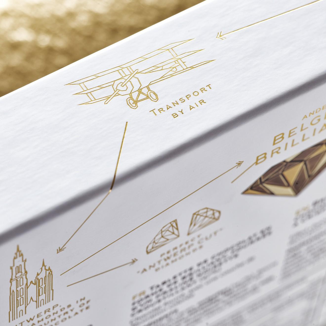 Quatre Mains package design - packaging, design, box, quatre mains