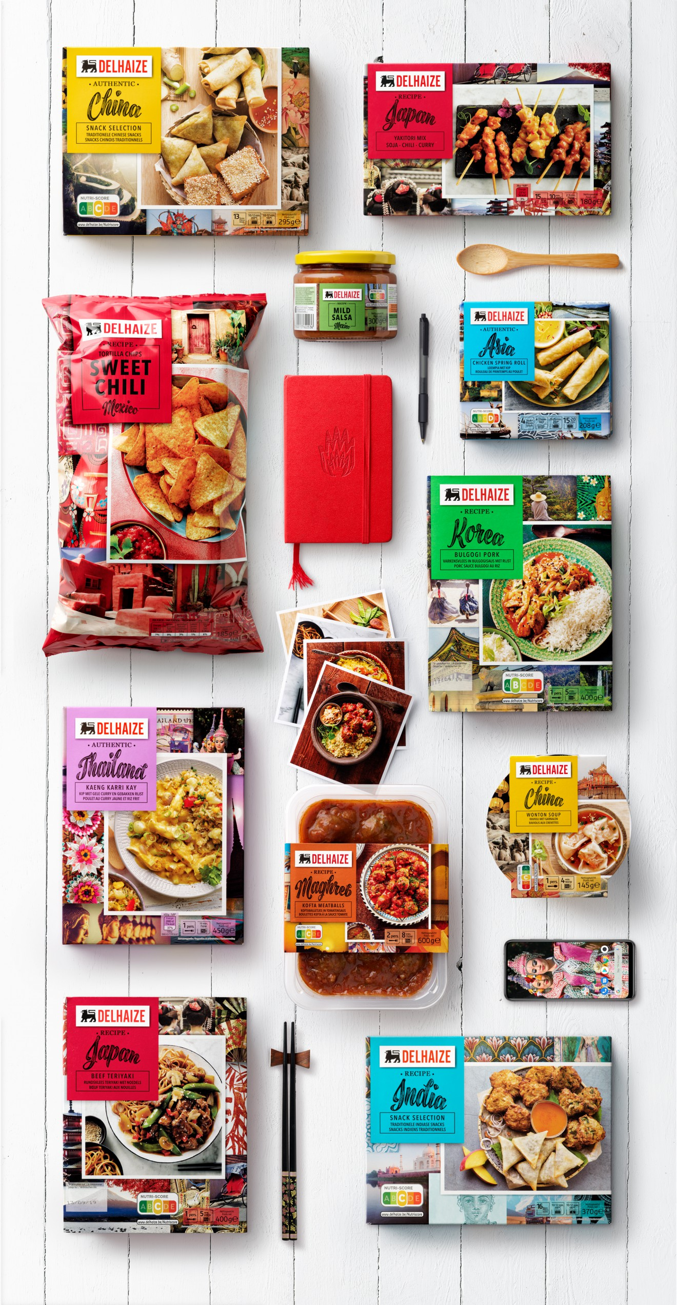 Quatre Mains package design - packaging design, packs, food, retailer
