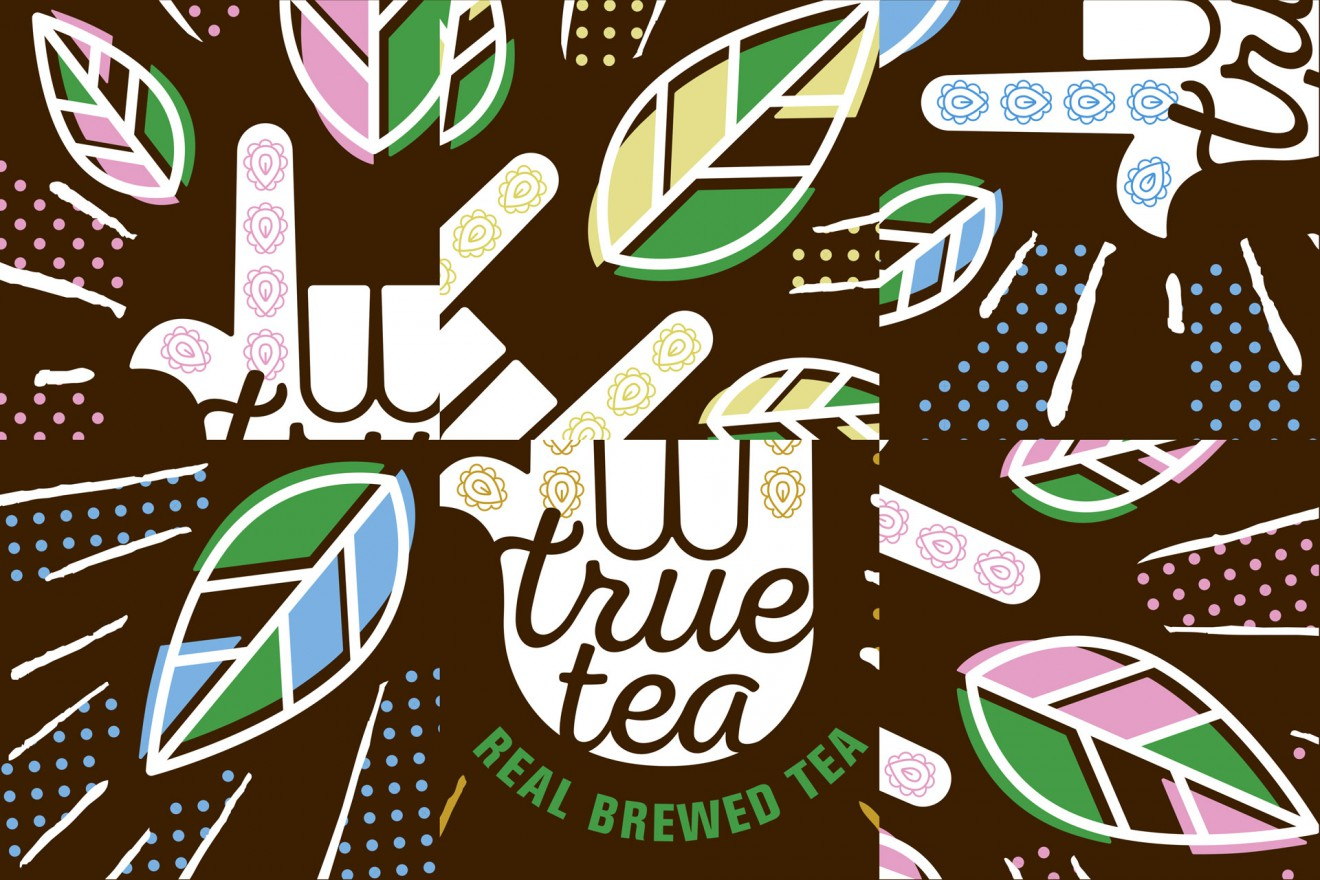 Quatre Mains package design - branding, organic, tea