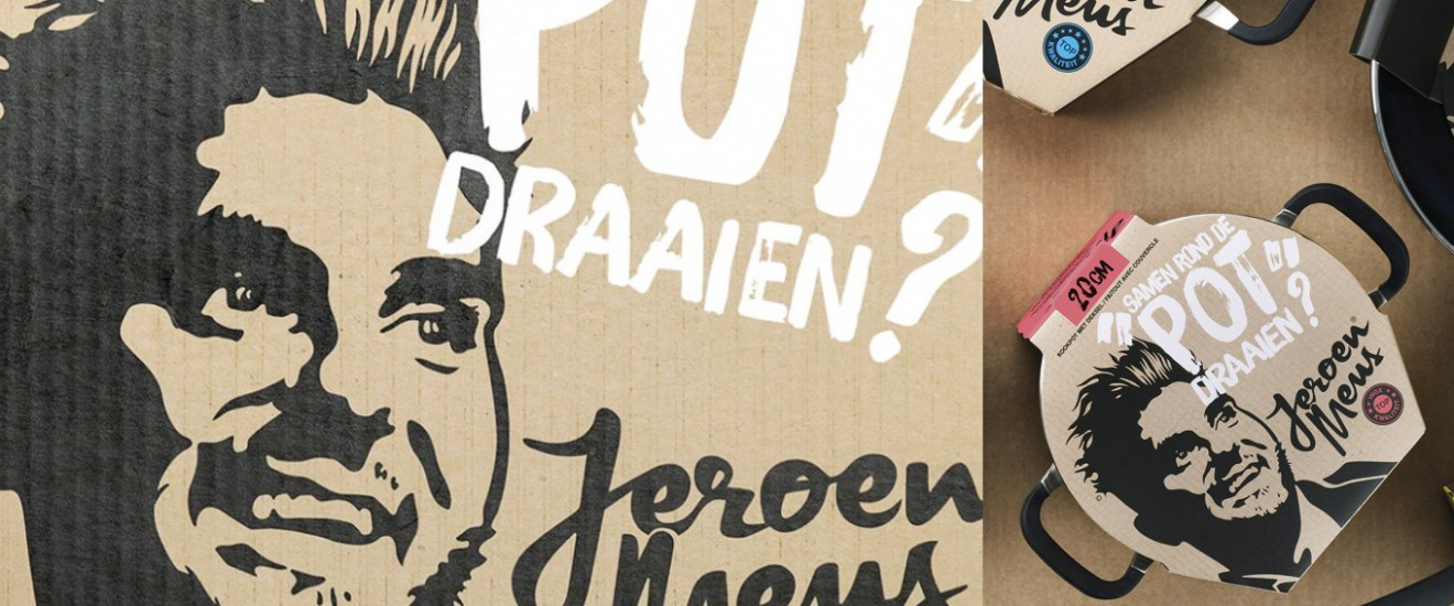 Quatre Mains package design - Jeroen Meus, potten, pannen, pentaward