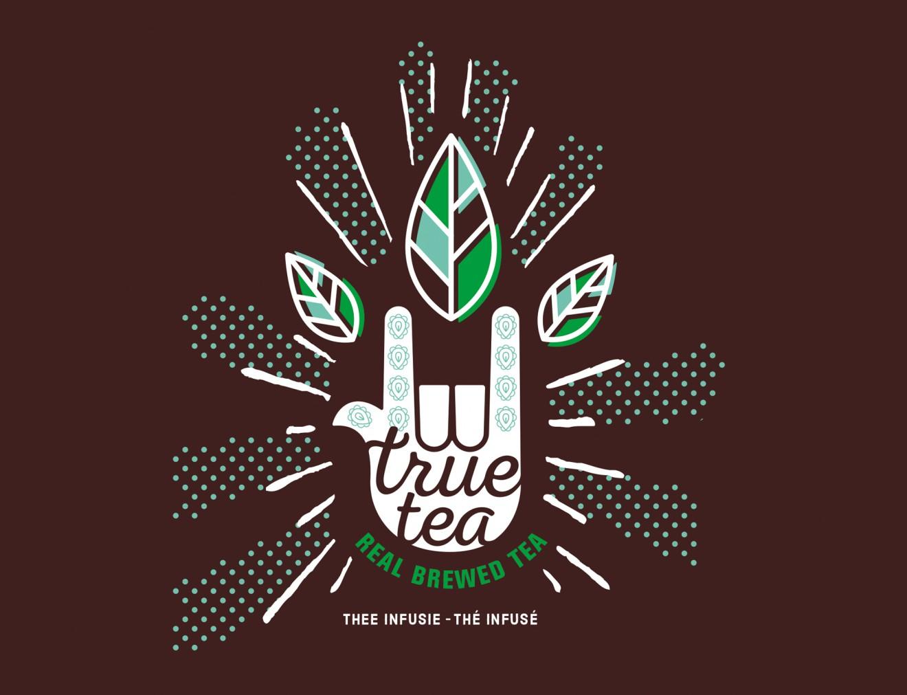Quatre Mains package design - cold brewed, teas, delhaize, branding