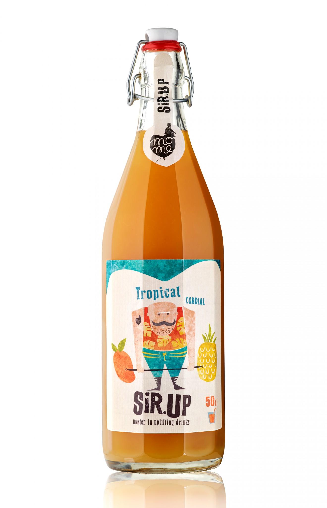 Quatre Mains package design - packaging design, rebranding, weck bottle