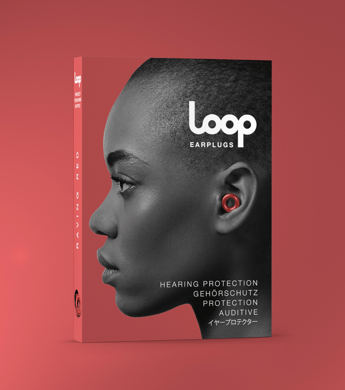 Quatre Mains package design - hearing, loop, branding, packaging