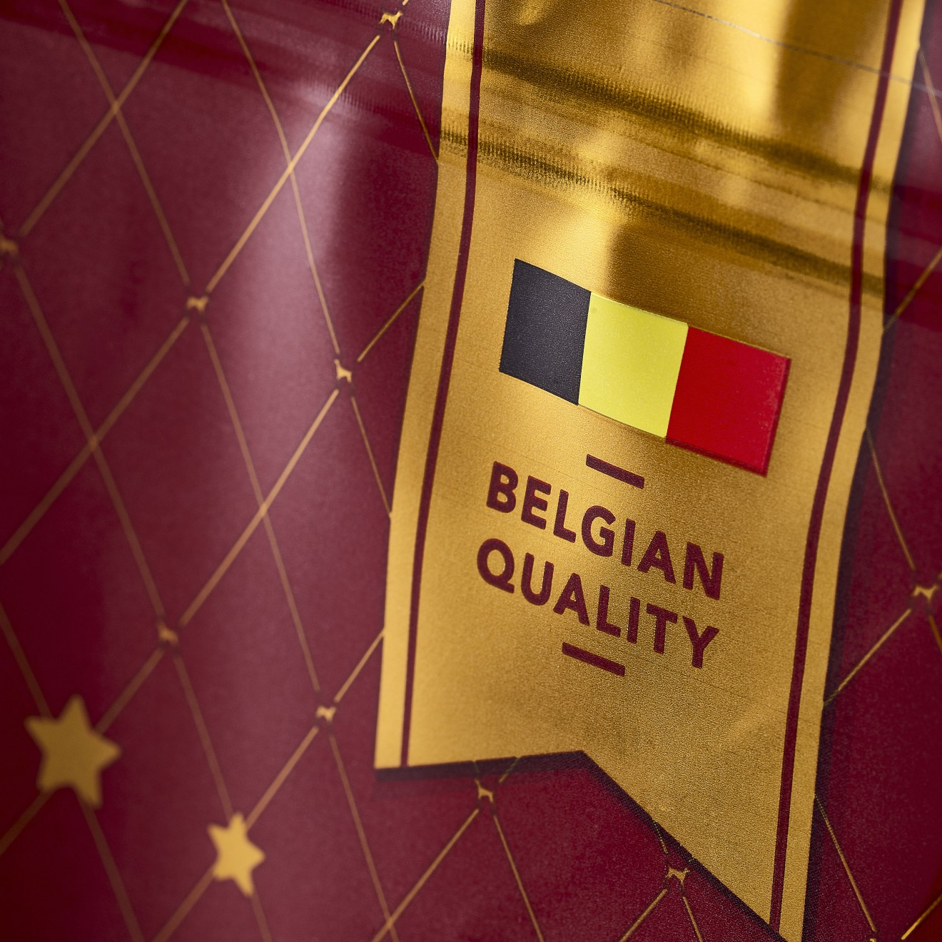 Quatre Mains package design - belgian, petfood