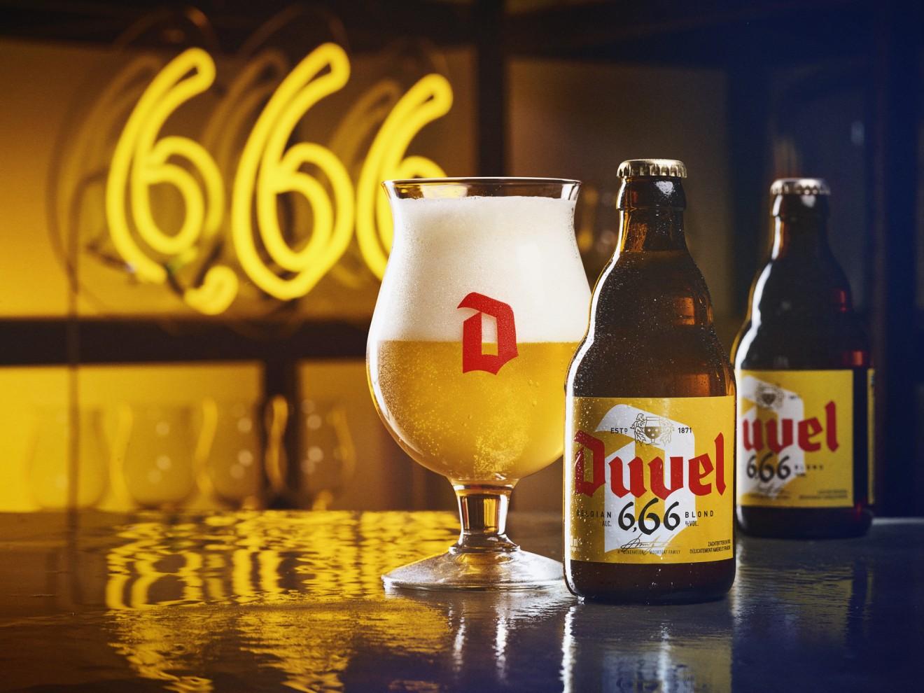 Quatre Mains package design - beer design