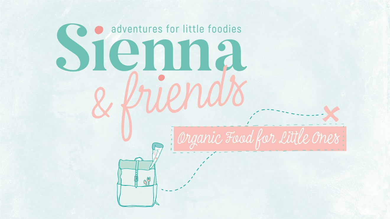 Quatre Mains package design - sienna, friends, backpack, illustrations, branding