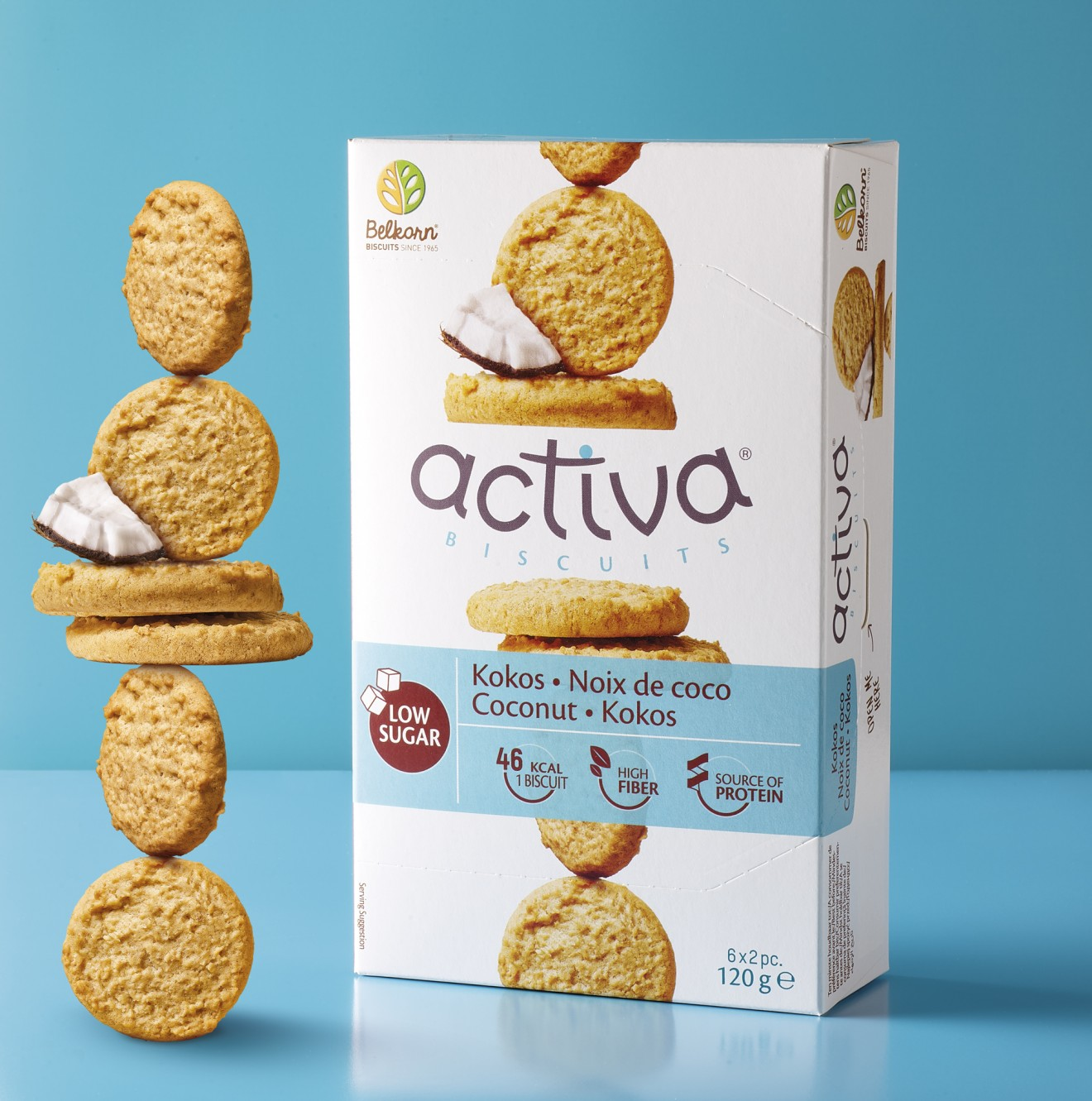 Quatre Mains package design - branding, quatre mains, coconut