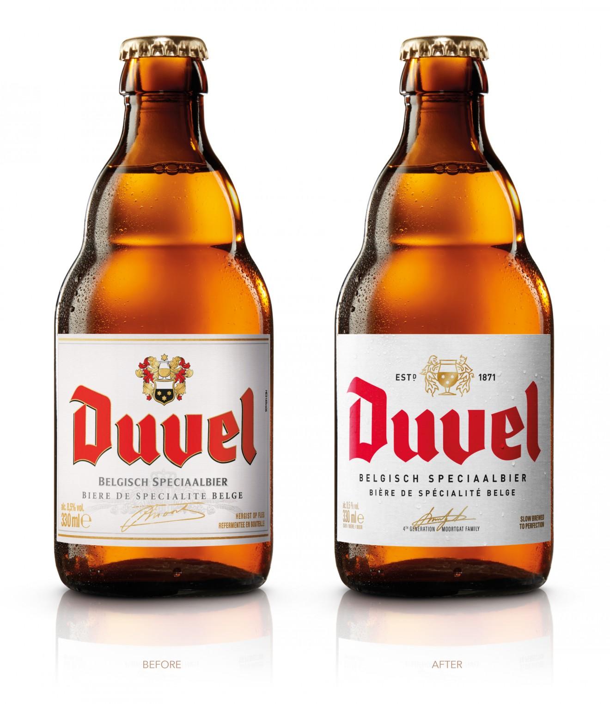 Quatre Mains package design - before, after, beer, belgian, brewed
