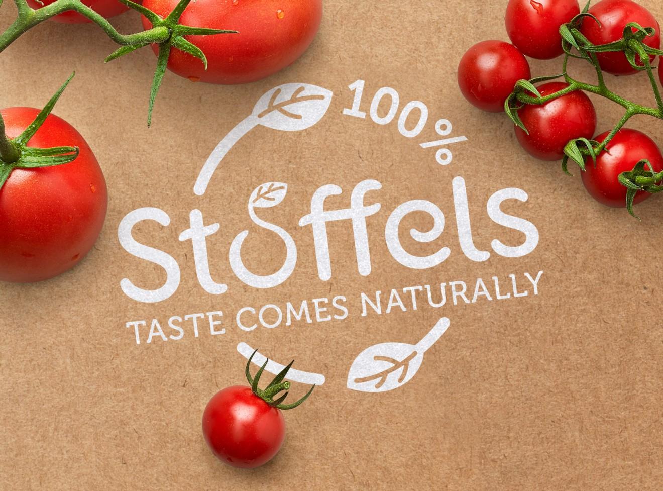 Quatre Mains package design - stoffel, naturally, taste, tomaten