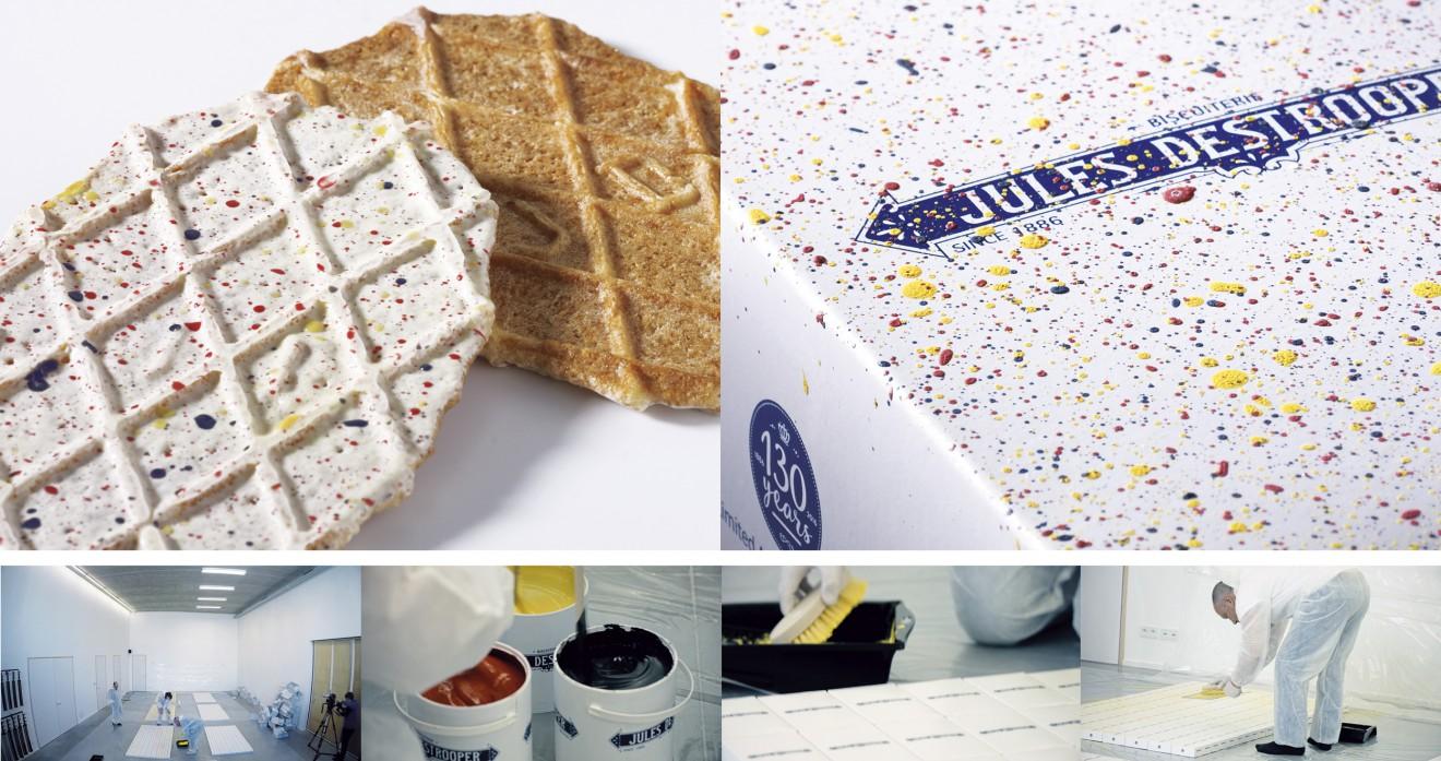 Quatre Mains package design - Dominique Person, biscuits, Boterwafel