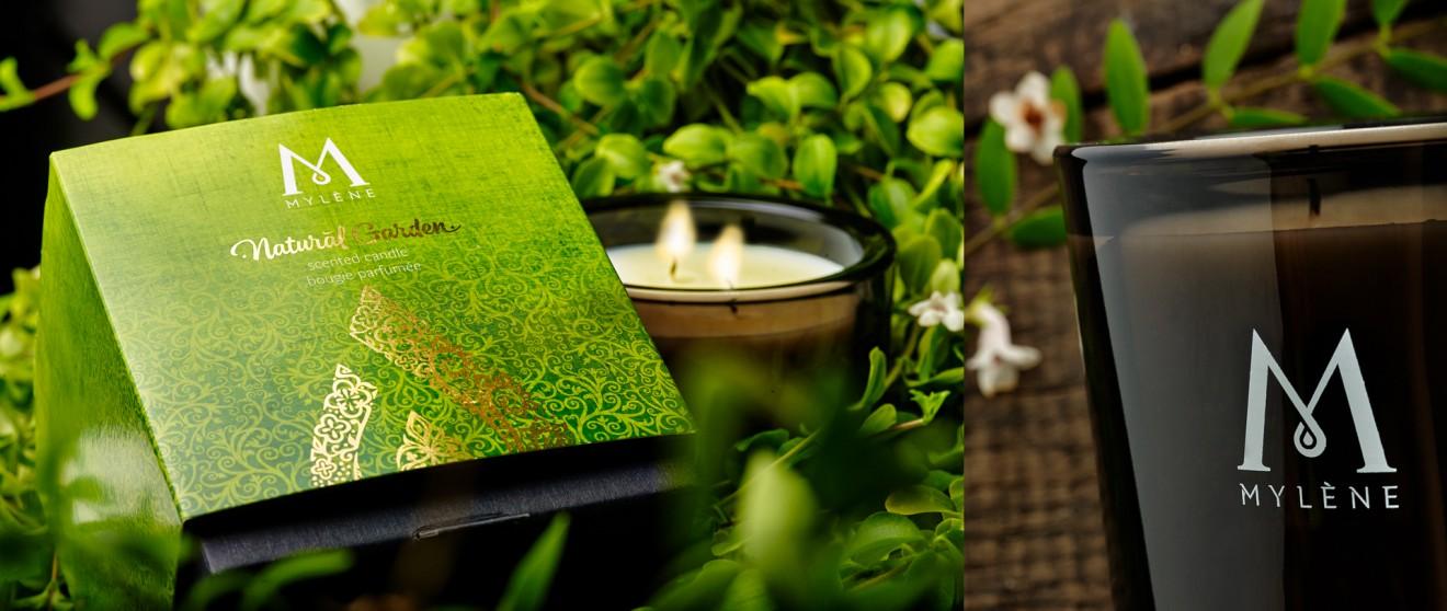 Quatre Mains package design - Quatre Mains, Branding and Packaging, Mylène, secret garden