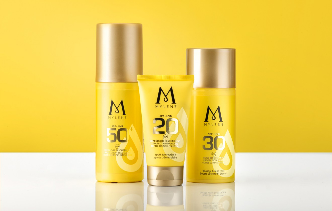 Quatre Mains package design - yellow, redesign, packaging