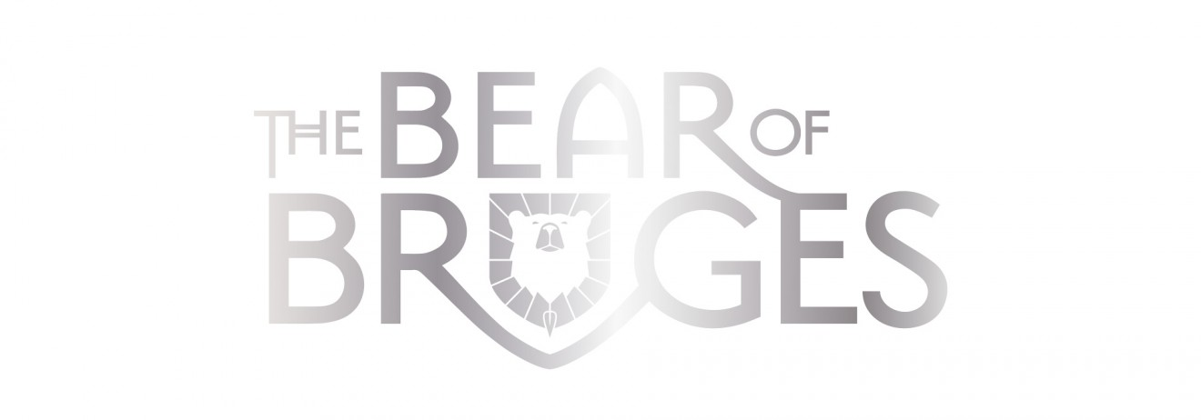 Quatre Mains package design - bear of bruges, logo, design, quatre mains