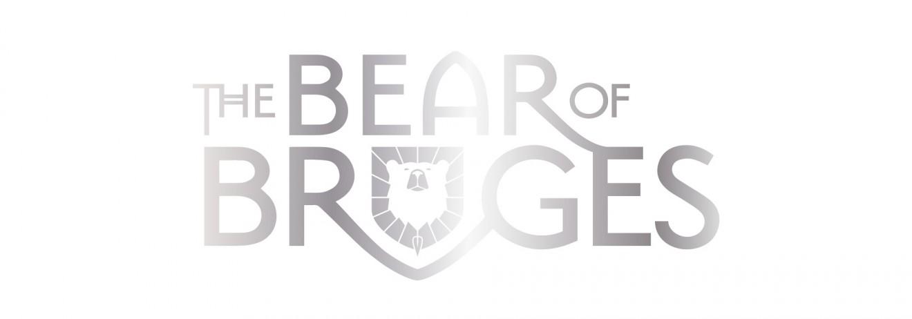 Quatre Mains package design - bear of bruges, logo, design, quatre mains