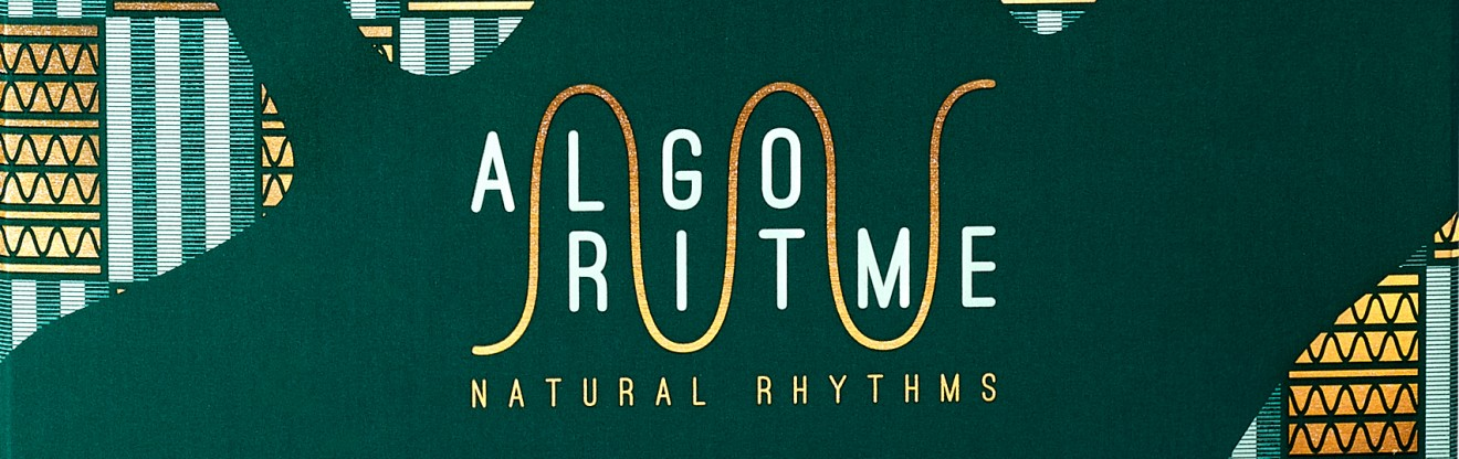 Quatre Mains package design - algoritme, natural, rhythms, quatre mains