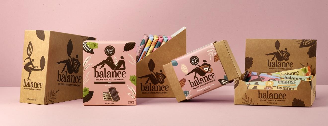 Quatre Mains package design -