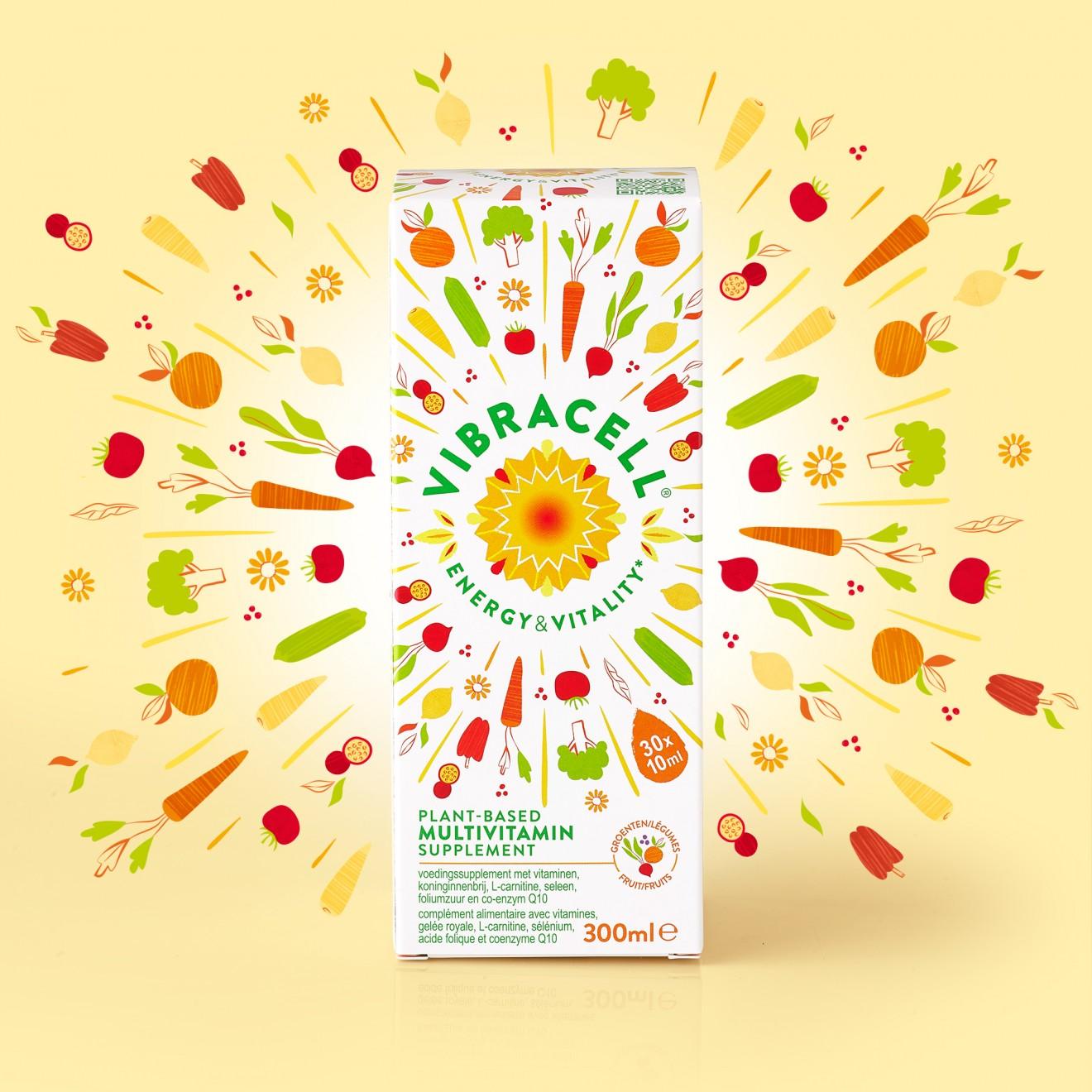Quatre Mains package design - design, carrot, beetroot, broccoli