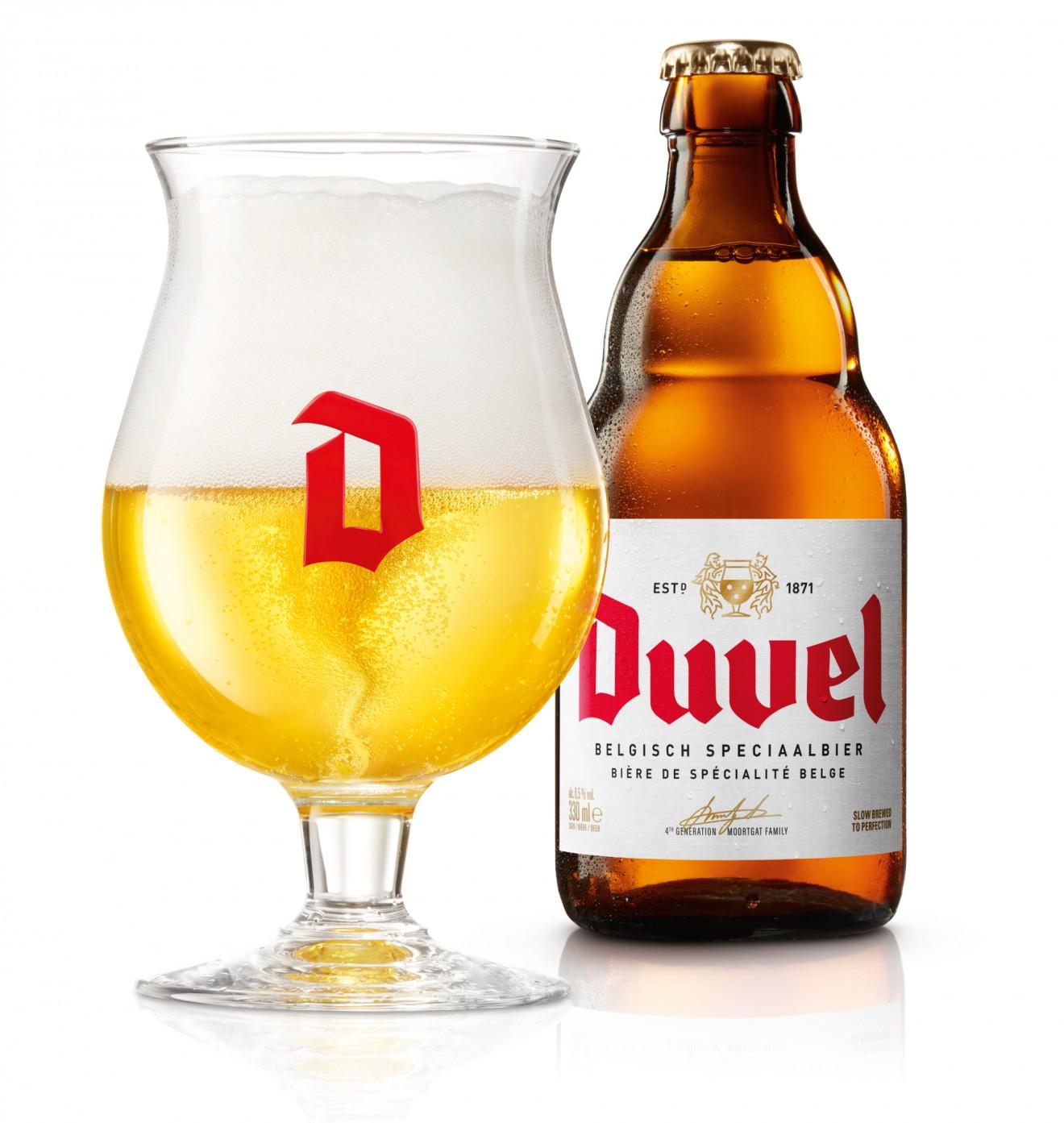Quatre Mains package design - peek, duvel, beer, belgian, design, packaging