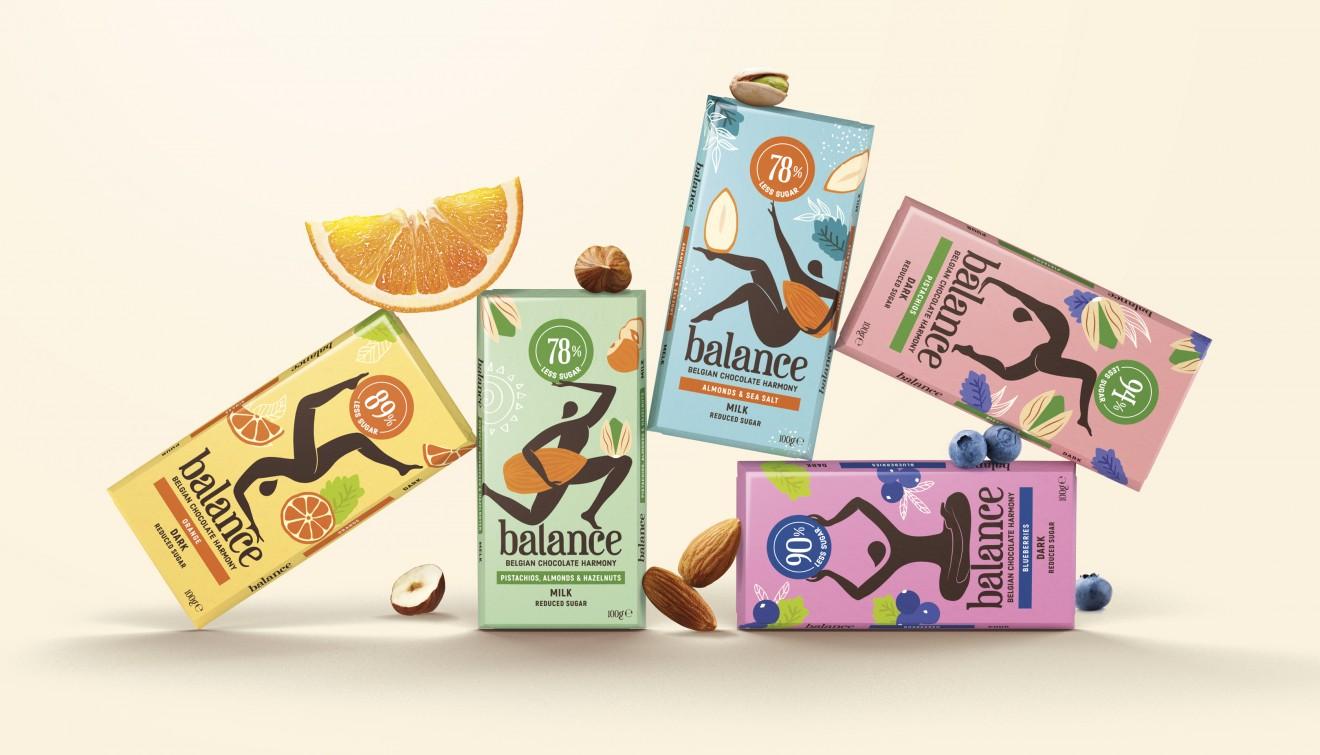 Quatre Mains package design - packaging, design, chocolate