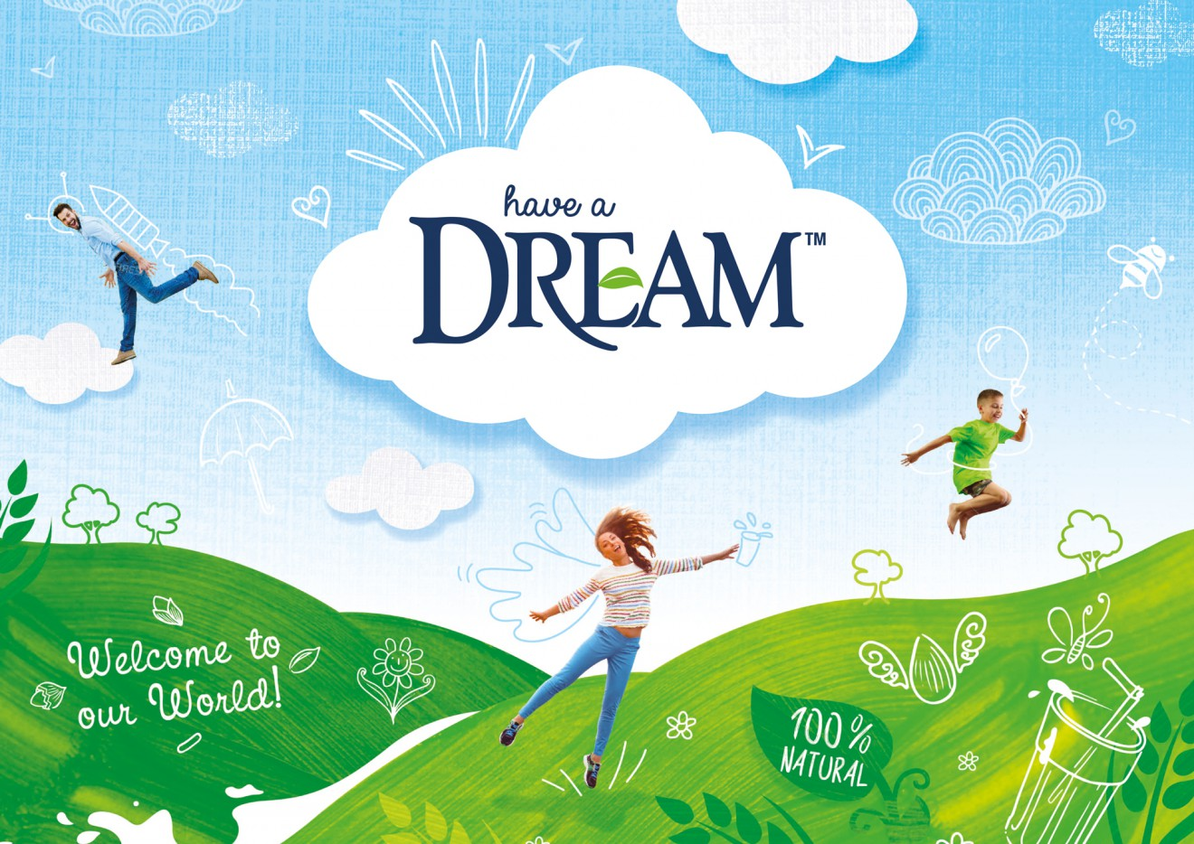 Quatre Mains package design - organic, world, dream, alternative