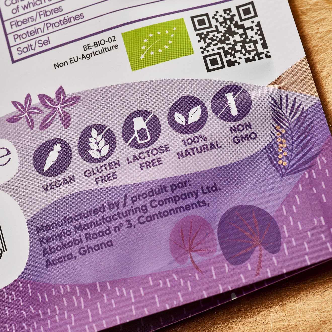 Quatre Mains package design - superfood, quatre mains, packaging