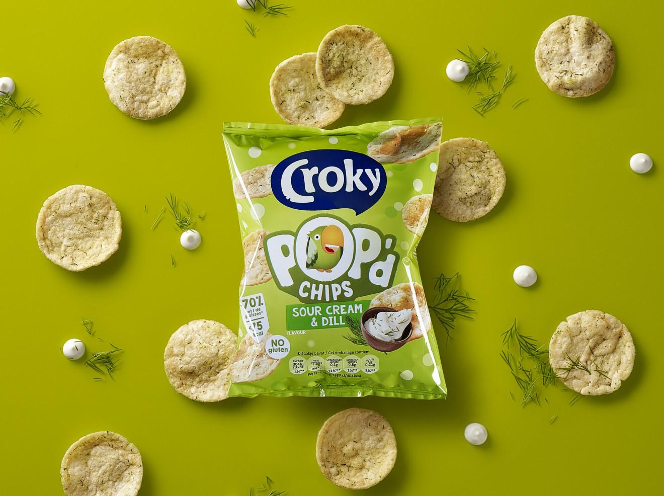 Quatre Mains package design - branding, packaging design, foil, dill, sour cream