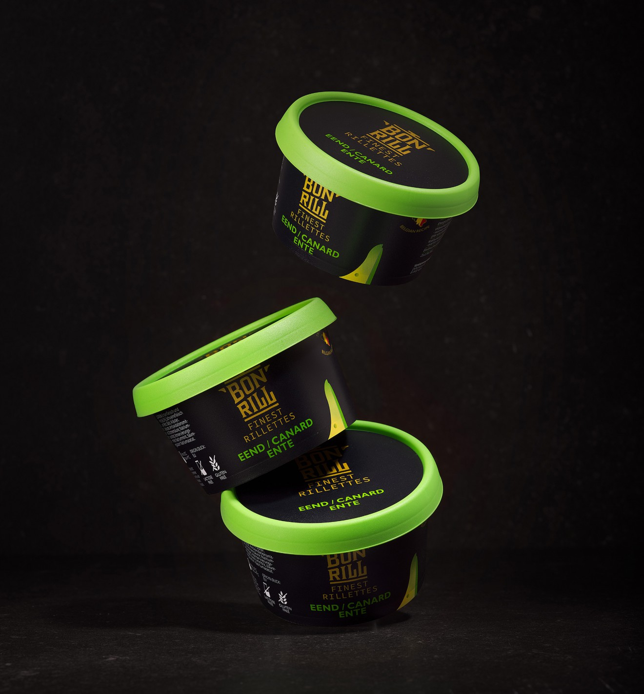 Quatre Mains package design - duck, packaging design, bonrill