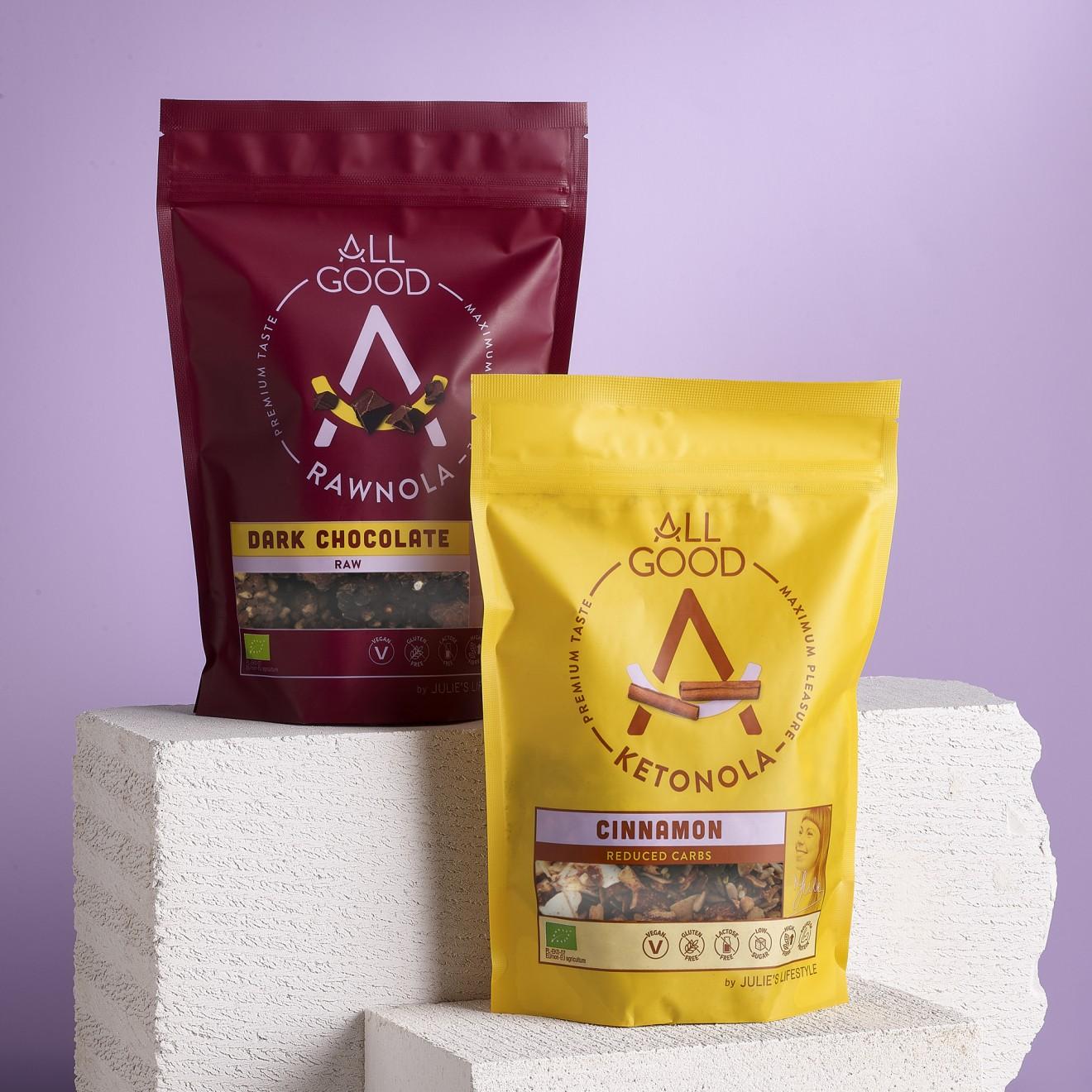 Quatre Mains package design - branding, quatre mains crackers