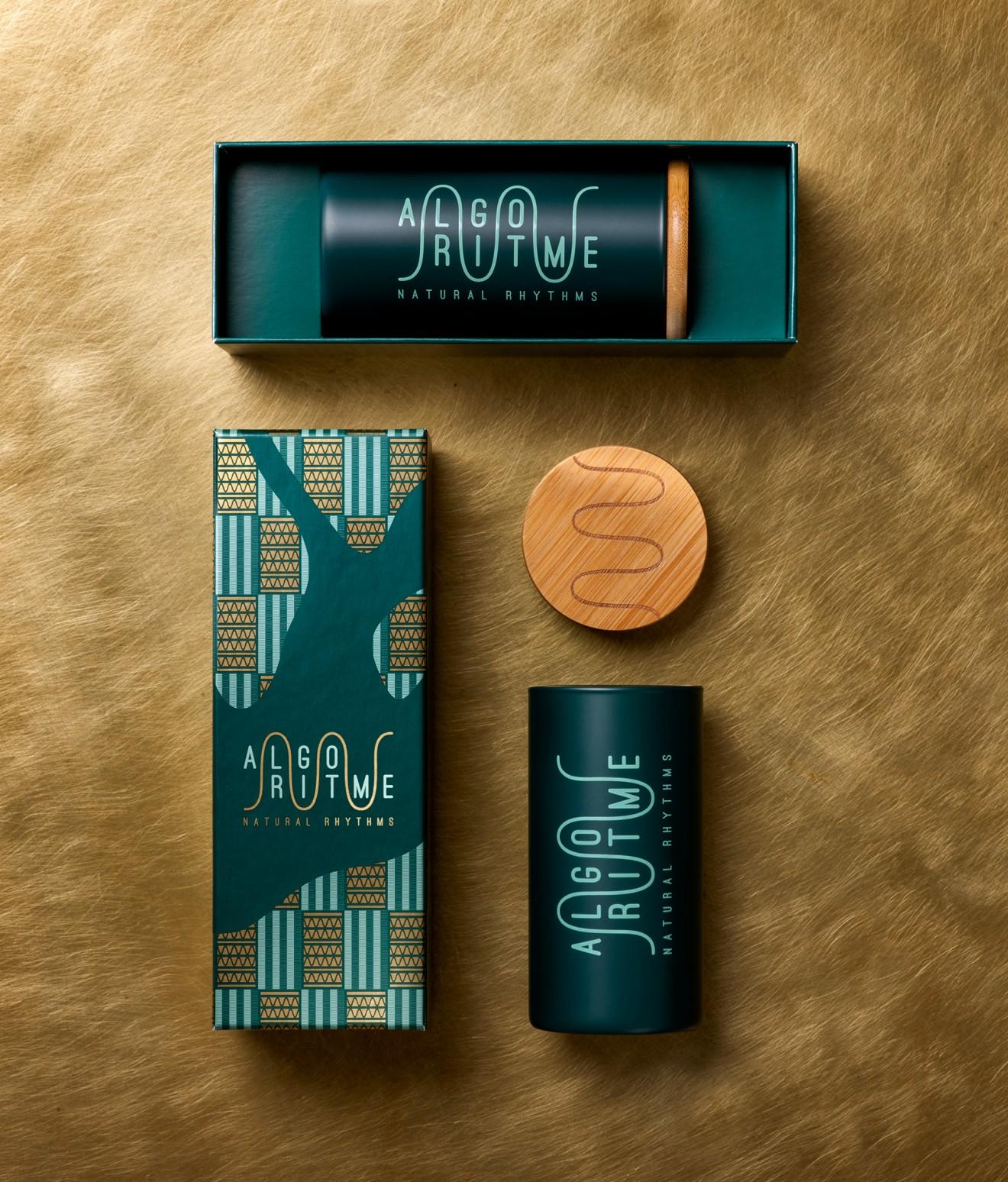 Quatre Mains package design - algoritme, spirulina, packaging, quatre mains