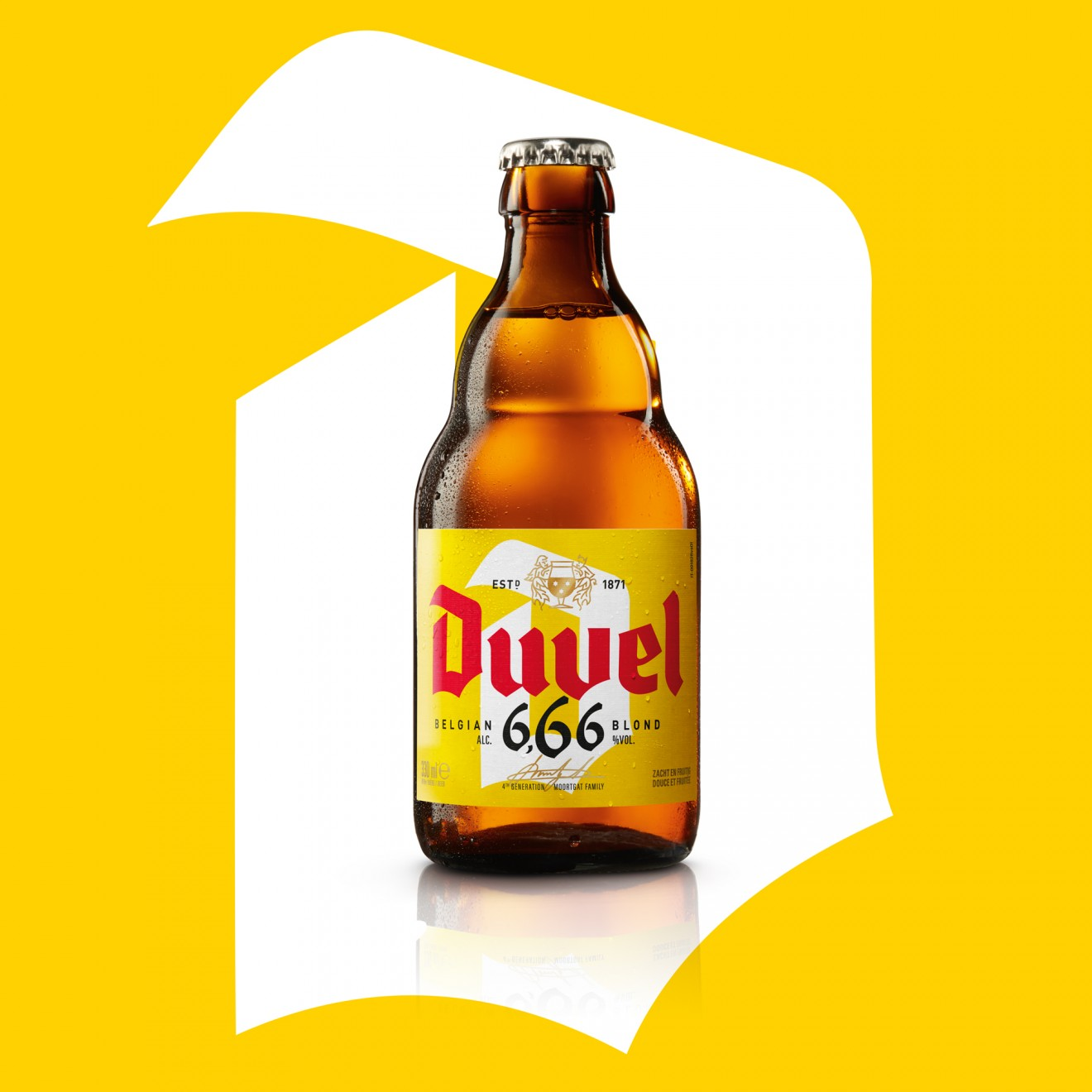Quatre Mains package design - 666, beer, belgian