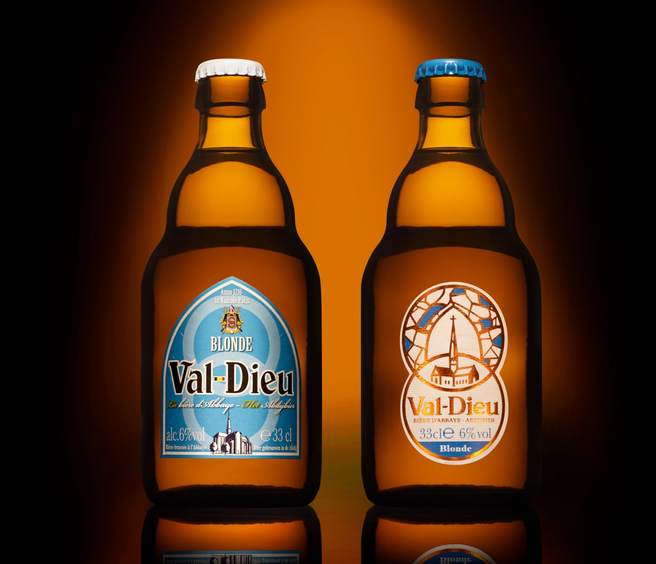 Quatre Mains package design - packaging, design, voor en na, bier, quatre mains