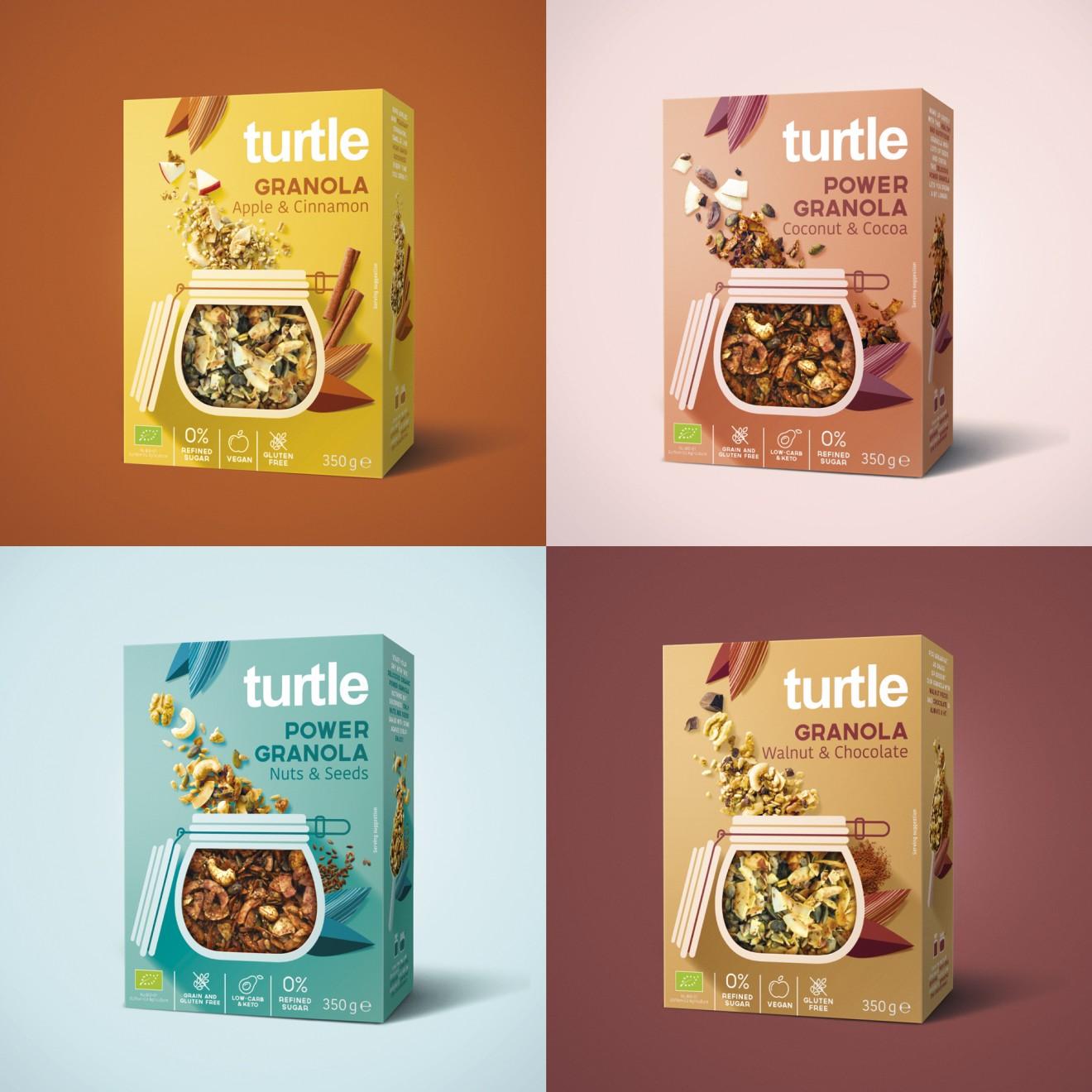 Quatre Mains package design - turtle, award