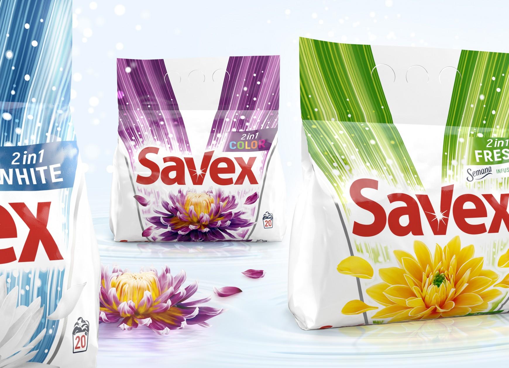 Quatre Mains package design - ficosota, quatre mains, laundry, savex