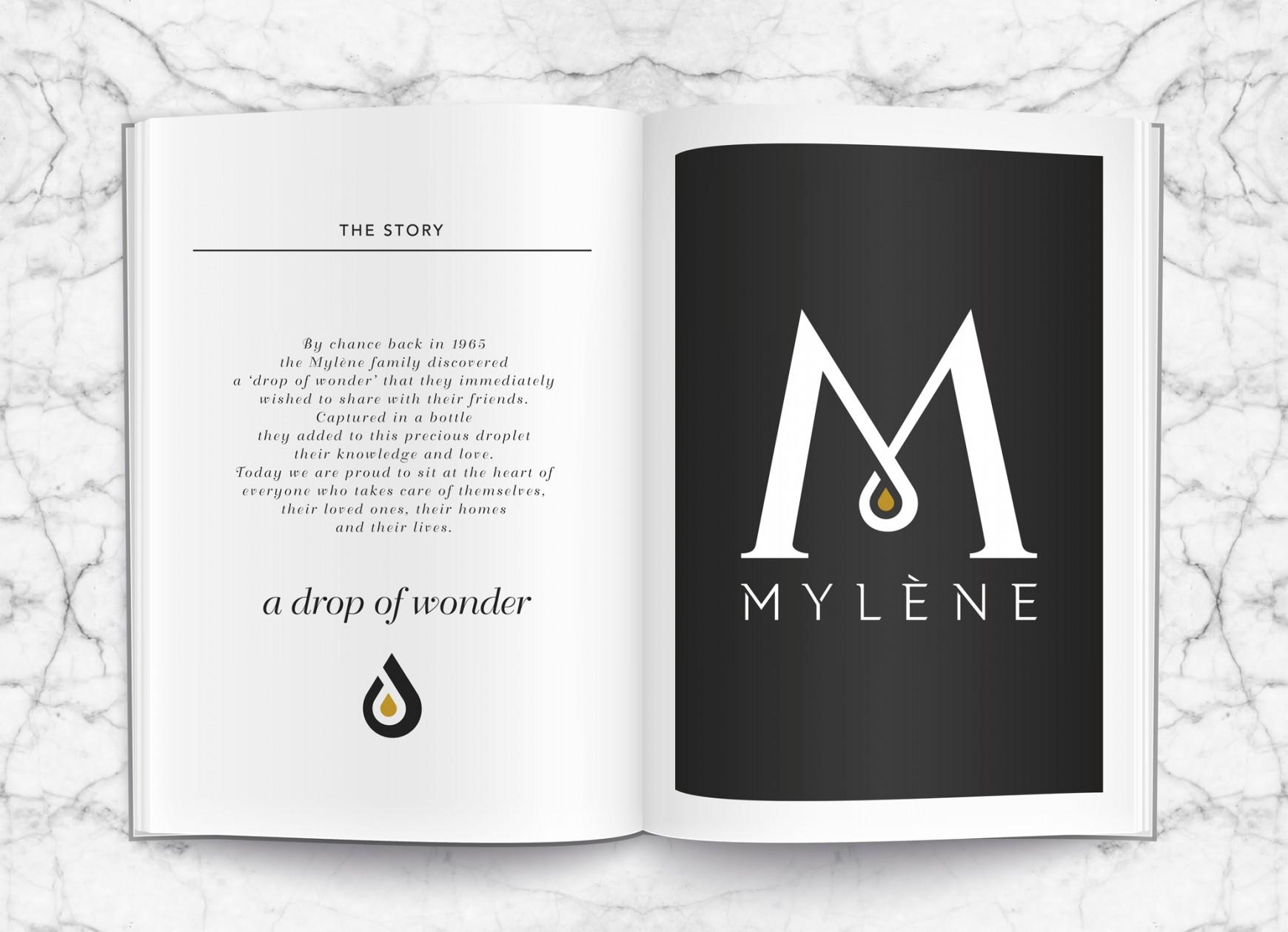 Quatre Mains packaging - mylène, homeparty, drop of wonder