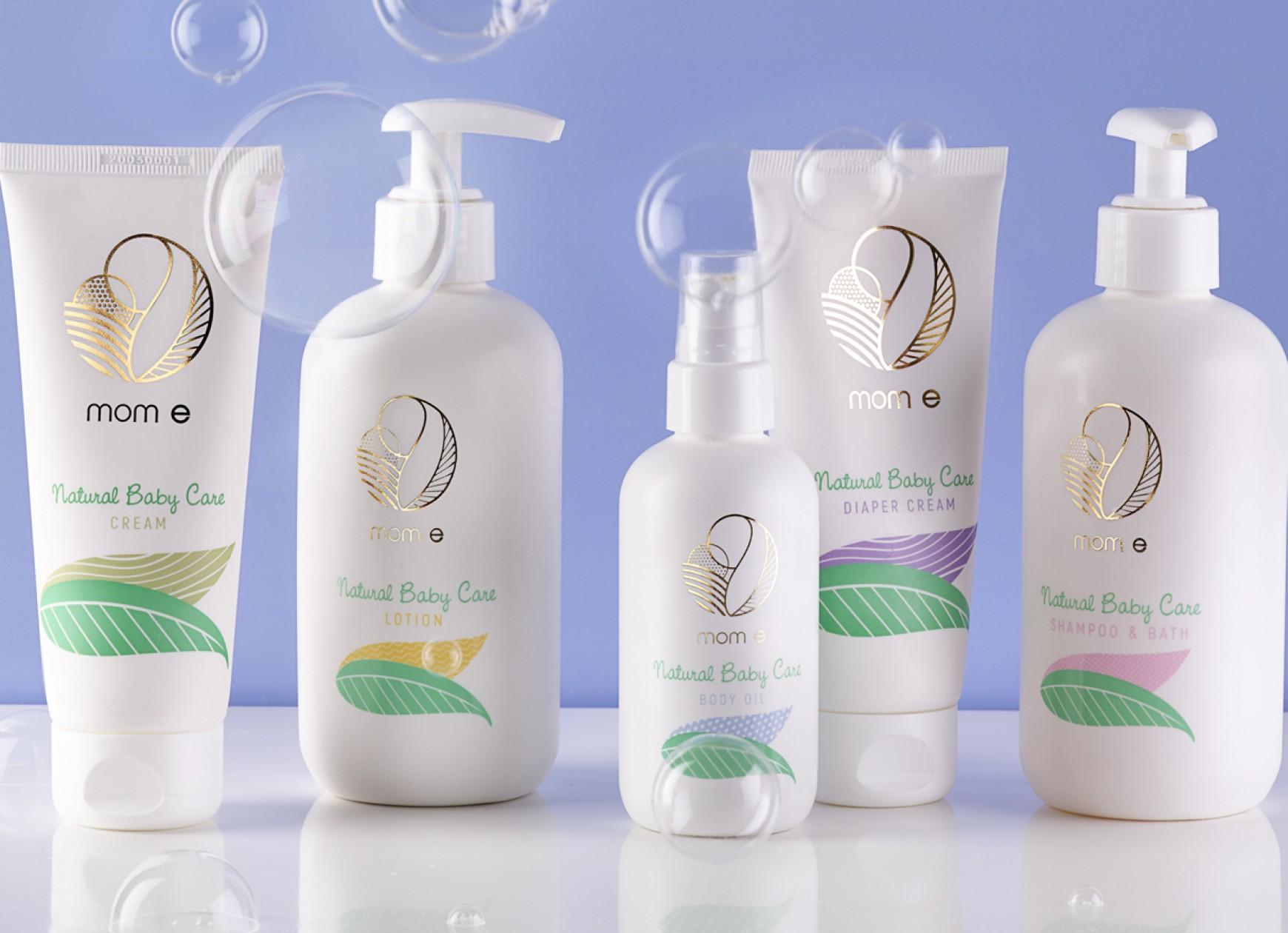 Quatre Mains package design - Package design bubbles, caring, quatre mains, branding