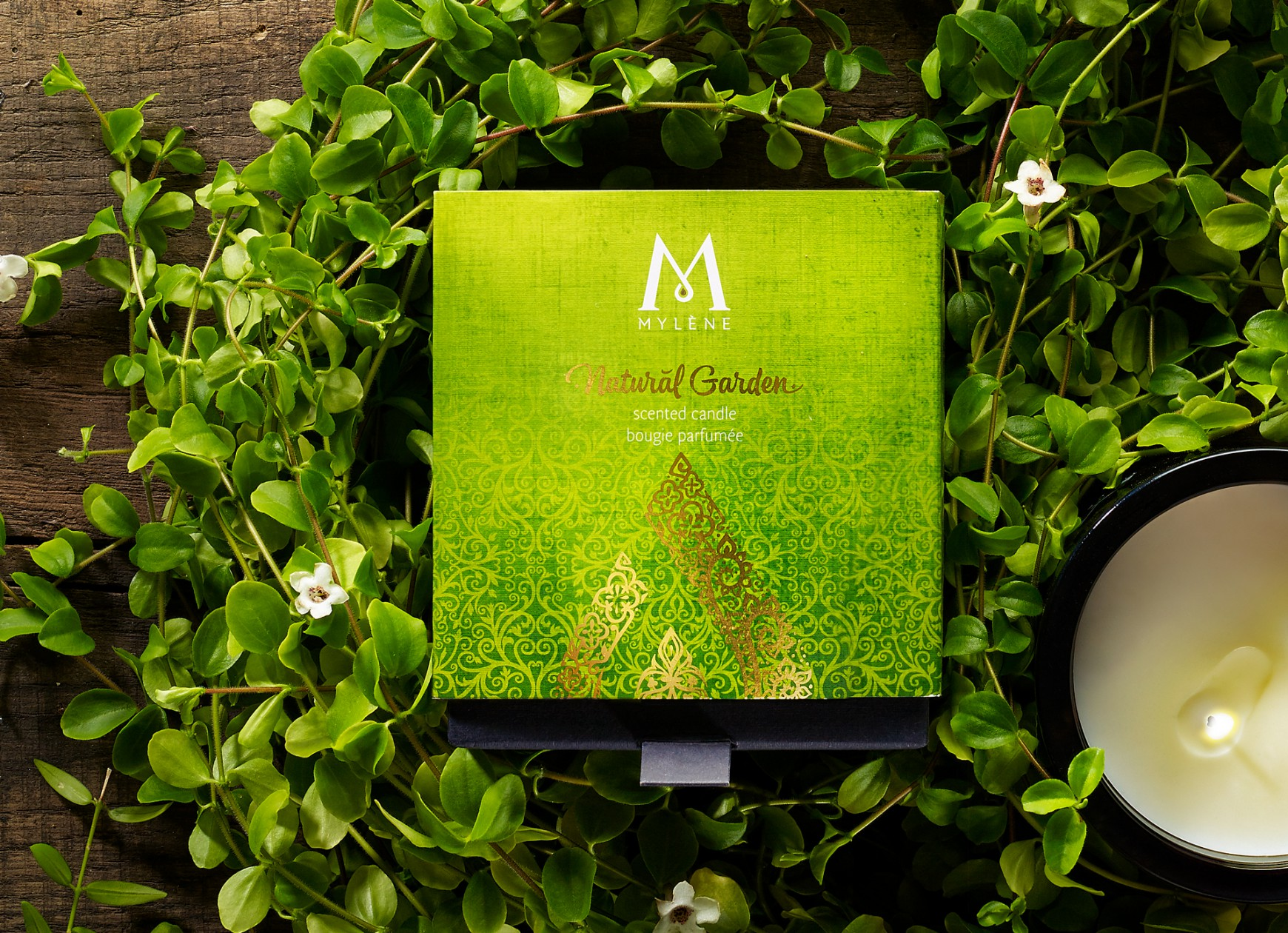 Quatre Mains package design - Quatre Mains, Branding and Packaging, Mylène, secret garden