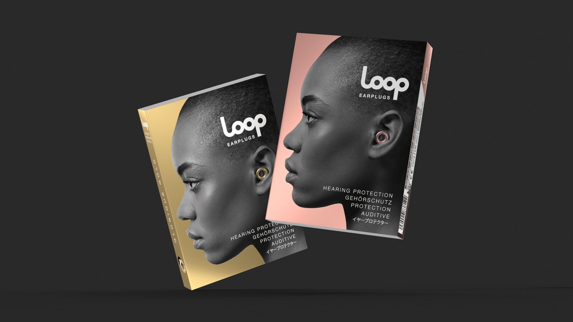 Quatre Mains package design - Package design loop, earplugs, packaging, quatre mains