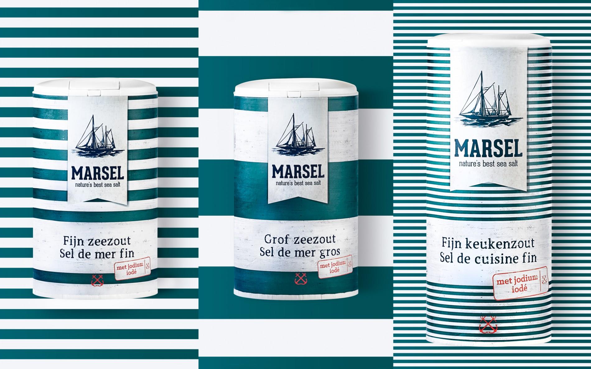 Quatre Mains package design - Package design zoutman, salt, quatremains