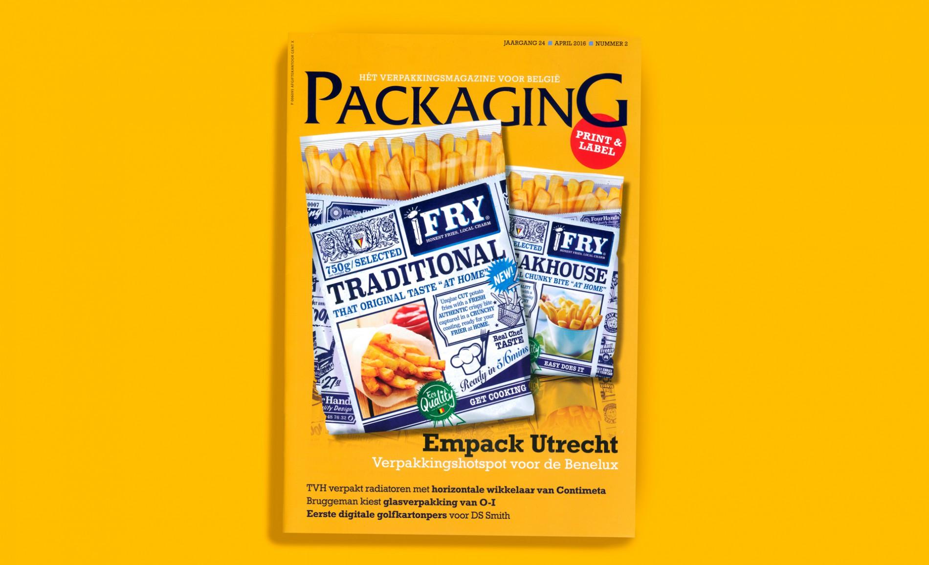 Quatre Mains package design - Packaging magazine, ifry, empack utrecht, quatre mains