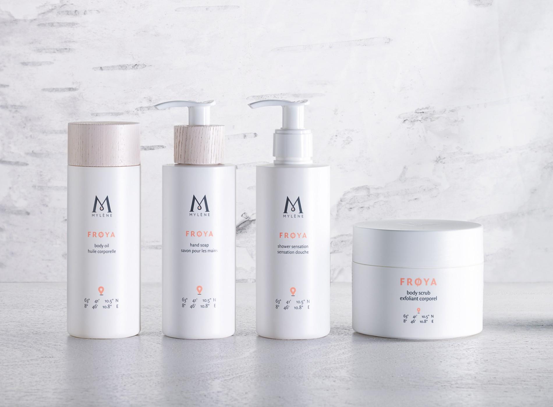 Mylène packaging realisation