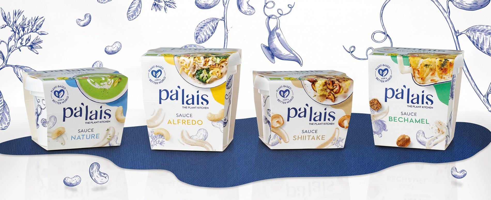 Quatre Mains package design - Package design Pa'lais, vegan, quatre mains, branding, packaging