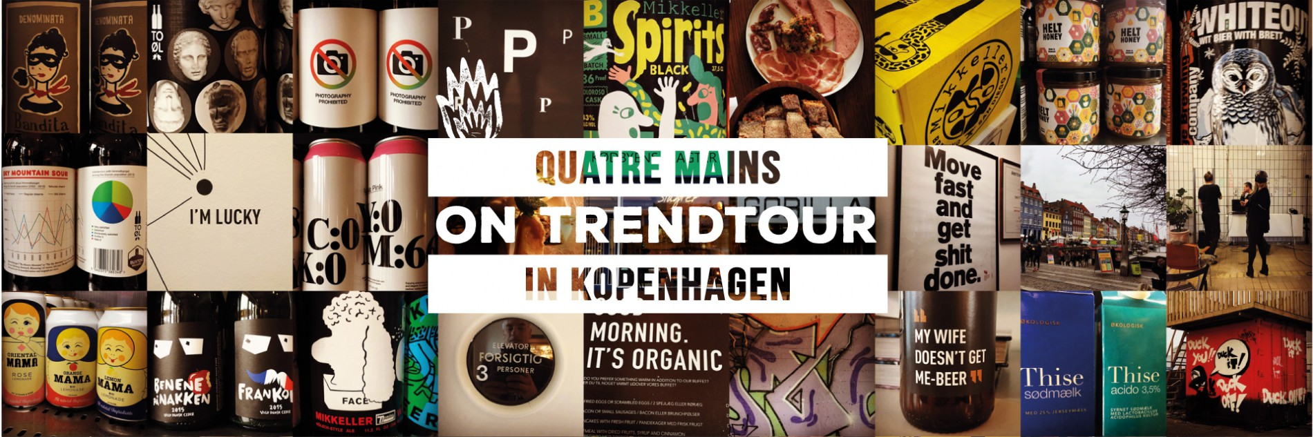 Quatre Mains package design - copenhagen, trend, tour, quatre mains