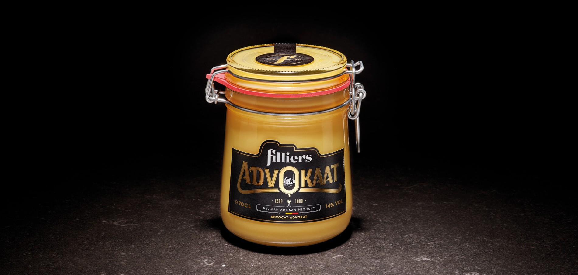 Quatre Mains package design - Package design advokaat, advocaat, filliers