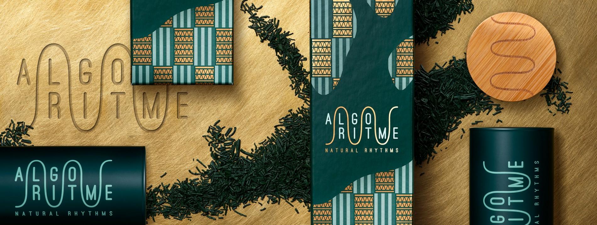 Quatre Mains package design - Package design branding, packaging, spirulina, seaweed, ghana