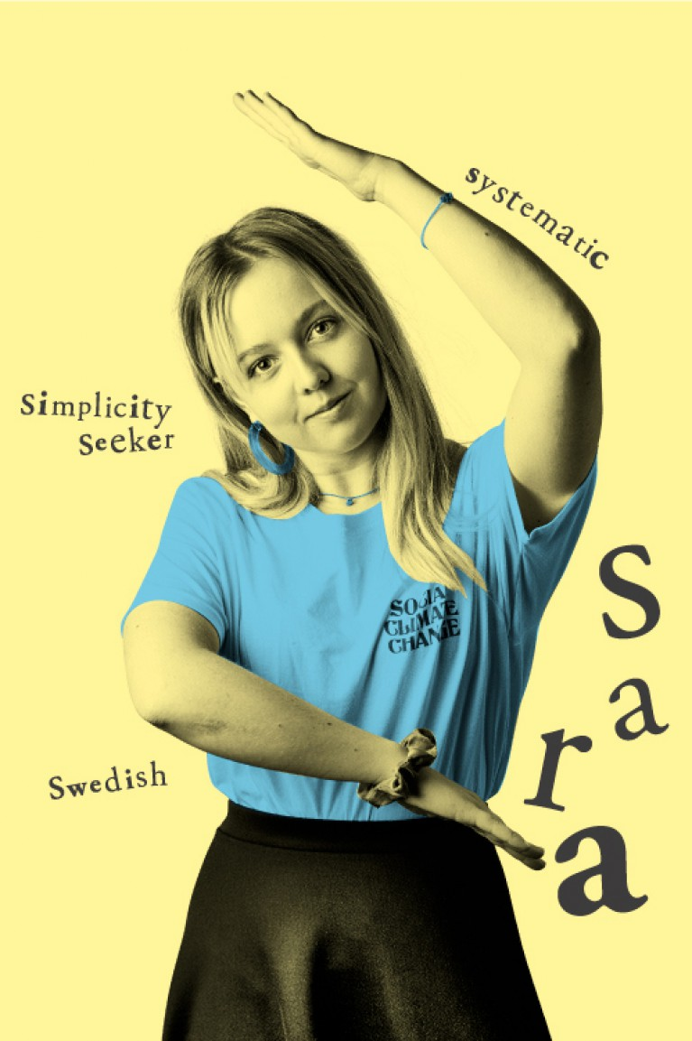 Sara - Systematic, Simplicity Seeker, Swedish
